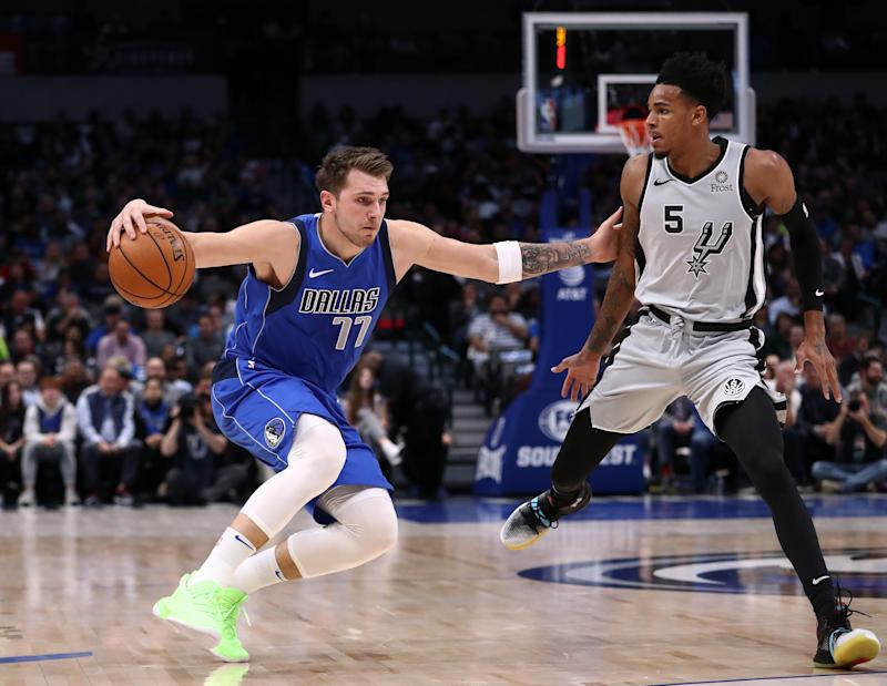 Warriors star Stephen Curry reacts to Luka Doncic wearing Curry 7s