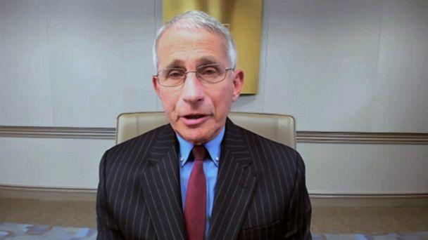 PHOTO: Dr. Fauci appears on 'Good Morning America,' June 10, 2020. (ABC News)