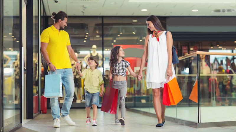 shopping mall, shops, purchase,