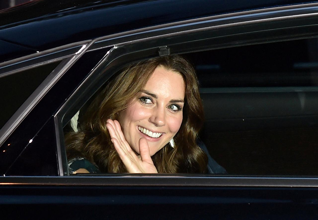 Britain's Princess Kate, the Duchess of Cambridge, attends a reception at Claerchens Ballhaus, in Berlin Germany, July 20, 2017.    REUTERS/Britta Pedersen/POOL     TPX IMAGES OF THE DAY