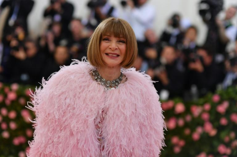 Vogue Editor-in-Chief Anna Wintour arrives for the 2019 Met Gala, which is set to return this fall after cancellations in 2020 due to the coronavirus pandemic