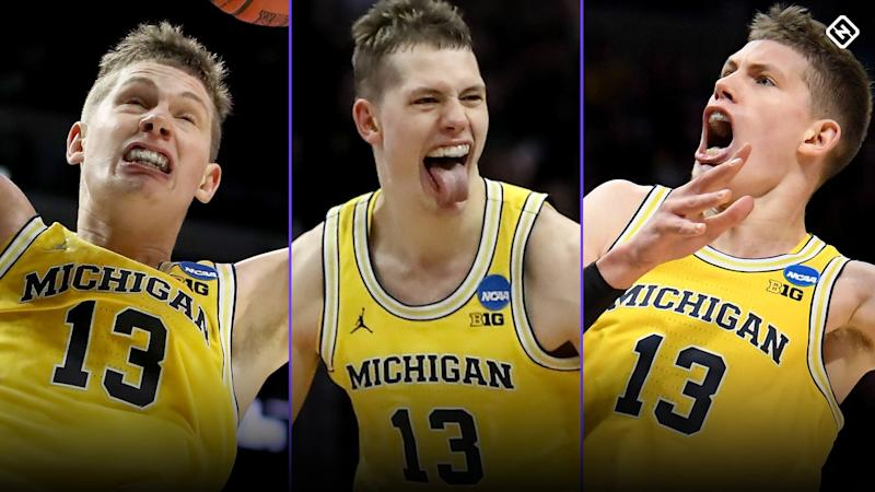 March Madness 2018: Moe Wagner, Michigan's excitable star, leads Wolverines into Elite Eight