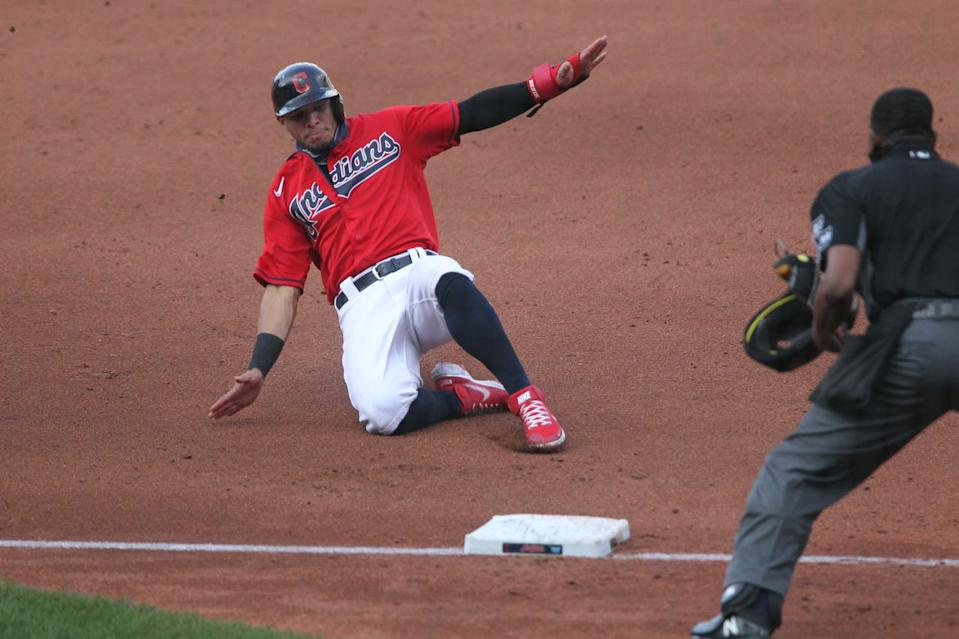 Three Cleveland Indians become free agents; decision on option renewals nearing