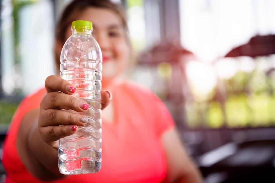 "<p>Drinking a lot of water is important for your health, but it's an especially important part of intuitive eating. Taking sips of water every few bites can help you eat more slowly, which is a big part of mindful eating. </p><p>Drinking water is also a way to ensure you're actually still hungry. ""If you are tempted to have a second helping, drink a glass of water and wait five minutes to see if you still want it,"" Axelrod recommends. ""If you're still hungry, have it."" </p><p>It's worth noting that <a href=""https://www.nationaleatingdisorders.org/warning-signs-and-symptoms"" rel=""nofollow noopener"" target=""_blank"" data-ylk=""slk:drinking excessive amounts of water in substitution for food may be considered a form of disordered eating"" class=""link rapid-noclick-resp"">drinking excessive amounts of water in substitution for food may be considered a form of disordered eating</a>, according the National Eating Disorder Association. If you chose to try this tip, be conscious of whether it becomes an extreme habit. </p>"