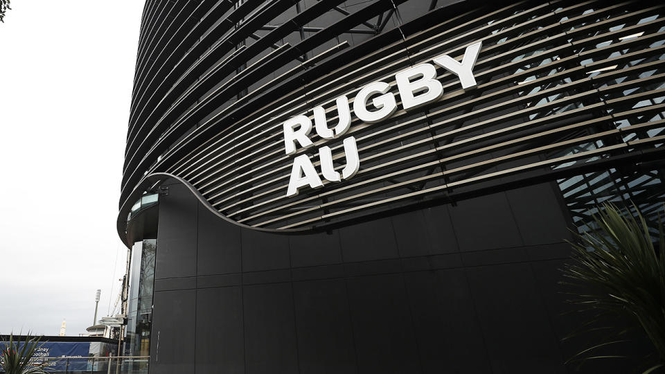 Rugby Australia headquarters, pictured here in Sydney.
