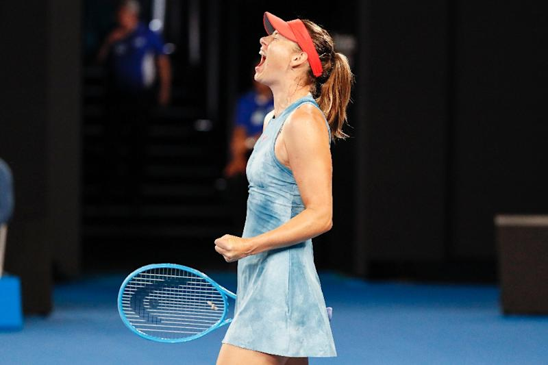 Party for Barty as she beats Sharapova at Australian Open