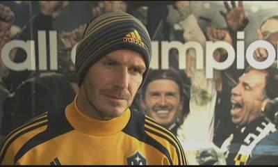 Beckham 'No Plans To Retire' From Football