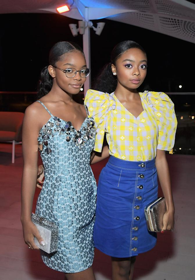 """<p>The ladies often show off their friendship on social media and <a href=""""https://www.popsugar.com/celebrity/marsai-martin-15th-birthday-party-photos-46573837"""" class=""""ga-track"""" data-ga-category=""""Related"""" data-ga-label=""""http://www.popsugar.com/celebrity/marsai-martin-15th-birthday-party-photos-46573837"""" data-ga-action=""""In-Line Links"""">Skai was in attendance for Marsai's 15th birthday</a> in September 2019. </p>"""