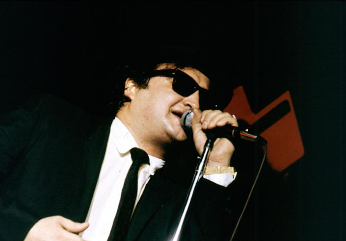 UNSPECIFIED - CIRCA 1980:  Photo of Blues Brothers & John Belushi  (Photo by Larry Hulst/Michael Ochs Archives/Getty Images)