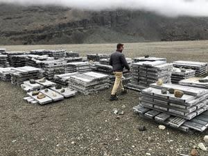 Drill core from previous drilling campaigns on Skaergaard Property –September 2020