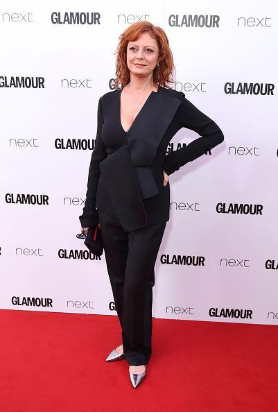 <p>Susan rocked another suit and we all freaking loved it. <i>[Photo: Mike Marsland/Mike Marsland/WireImage]</i></p>