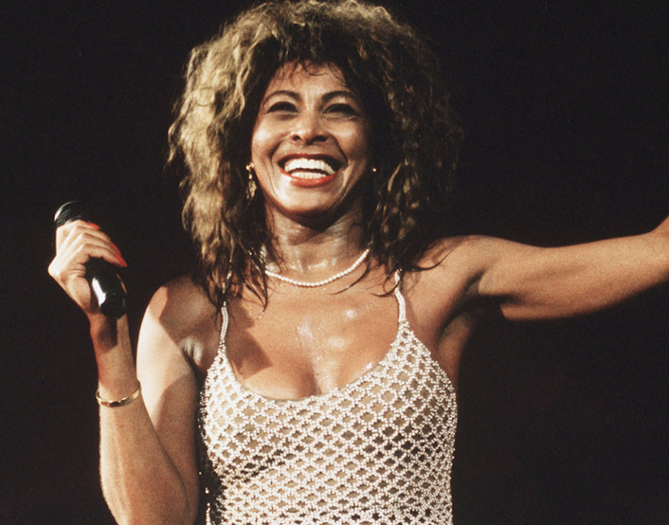 Tina Turner in 'Tina' (HBO)
