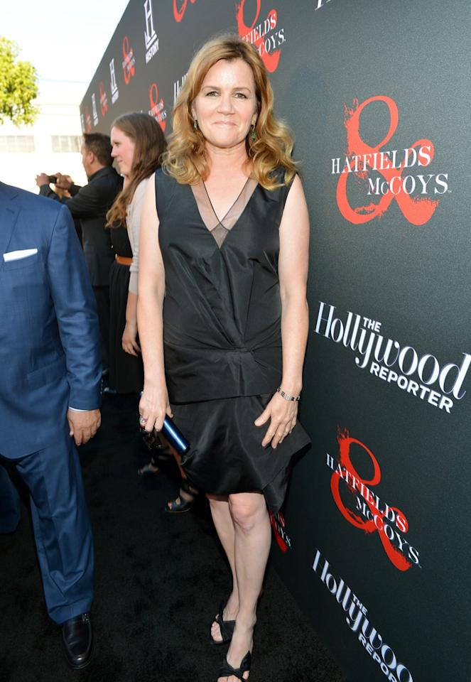 "Mare Winningham attends a special screening of ""Hatfields & McCoys"" hosted by The History Channel at Milk Studios on May 21, 2012 in Hollywood, California."