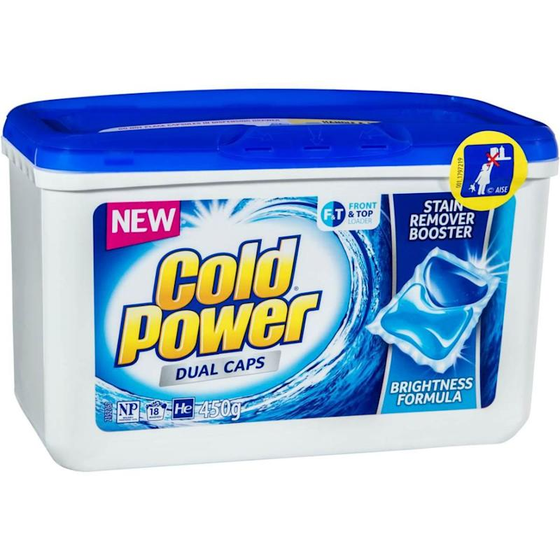 In Australia, a similar brand is Cold Power Dual Caps. Photo: Cold Power