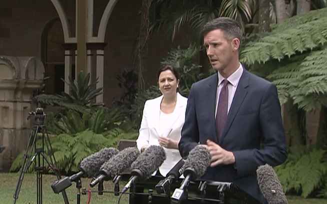 Mark Bailey addressed media on Thursday over the ongoing debate. Source: ABC