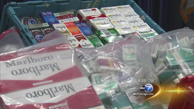 Illegal cigarette fines a financial windfall for Cook Co.