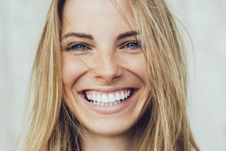 Crest Whitestrips are on sale, so stock up! (Photo: Getty)