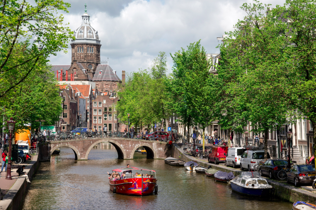 <p>Amsterdam is the only country to have jumped into the top 10 since 2013 and now sits in the same position as Los Angeles. (Pic: Wikipedia) </p>