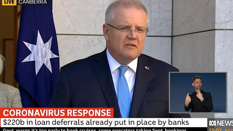 Prime Minister Scott Morrison hailed some pubs and restaurants as 'brave' for reopening despite it not being financially viable during the coronavirus crisis.
