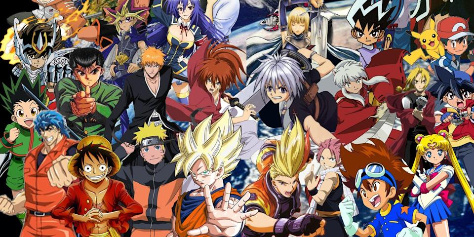 most loved anime characters