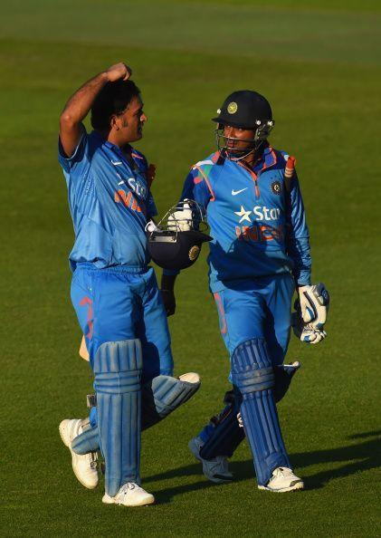 While Ambati Rayudu seems to have locked the no.4 position, MS Dhoni has struggled to get going with the bat