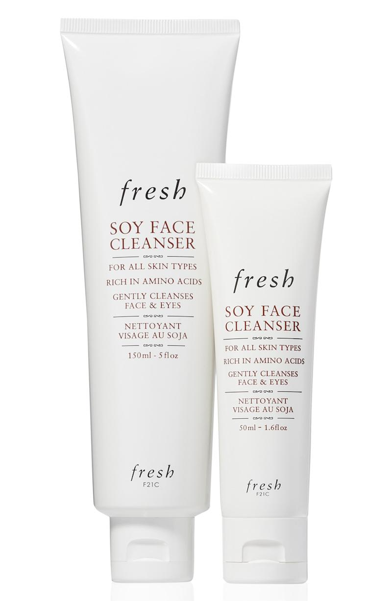 Fresh Soy Face Cleanser Home & Away Set