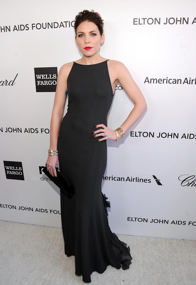 WEST HOLLYWOOD, CA - FEBRUARY 24:  Singer/songwriter Skylar Grey attends the 21st Annual Elton John AIDS Foundation Academy Awards Viewing Party at Pacific Design Center on February 24, 2013 in West Hollywood, California.  (Photo by Jamie McCarthy/Getty Images for EJAF)