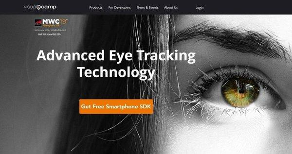 VisualCamp will showcase its ultra-small remote eye tracking technology at MWC Shanghai 2019.