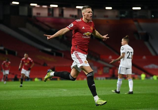 Scott McTominay became the first player in Premier League history to score a brace in the opening three minutes of a match