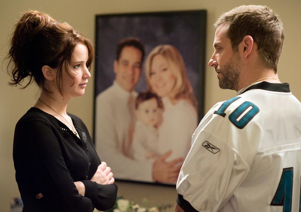 """Silver Linings Playbook"" is set in 2008, based on the Eagles' games mentioned in the film. But in the movie, fans wear jerseys for Nnamdi Asomugha, who didn't join the team until 2011, and for Michael Vick, who also wasn't on the team in 2008."