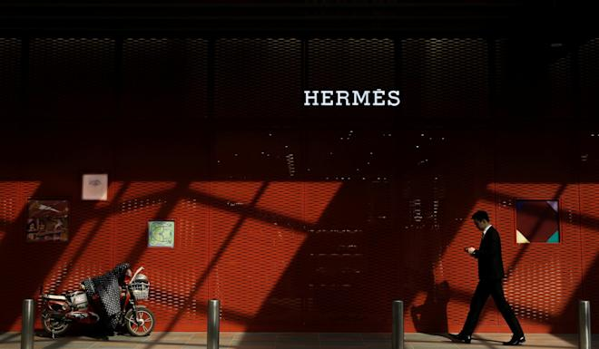 An Hermes store in Beijing. The main challenge for international luxury companies will not be potential declines, but staying connected and relevant to Chinese consumers. Photo: Reuters