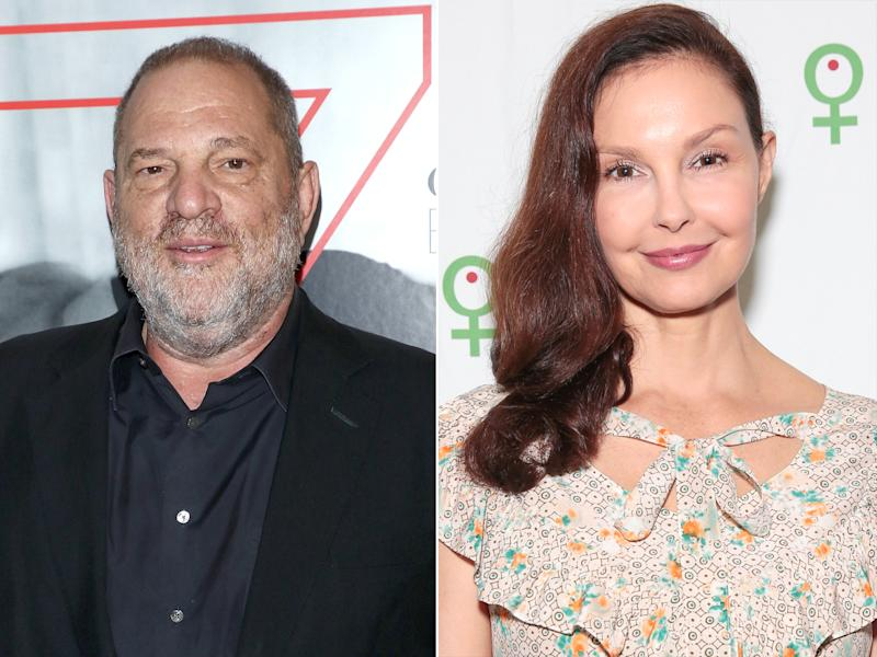 Harvey Weinstien and Ashley Judd