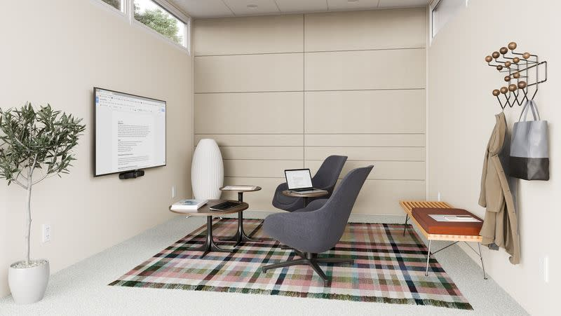 Work-from-home boom is a bust for big office furniture makers