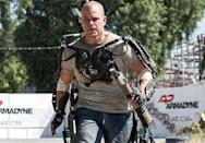 <p>Matt Damon took on an intense action role — and a shiny bald head — in the film <em>Elysium</em>. And honestly, it suited him so well that he should consider rocking a shaved head full-time. </p>