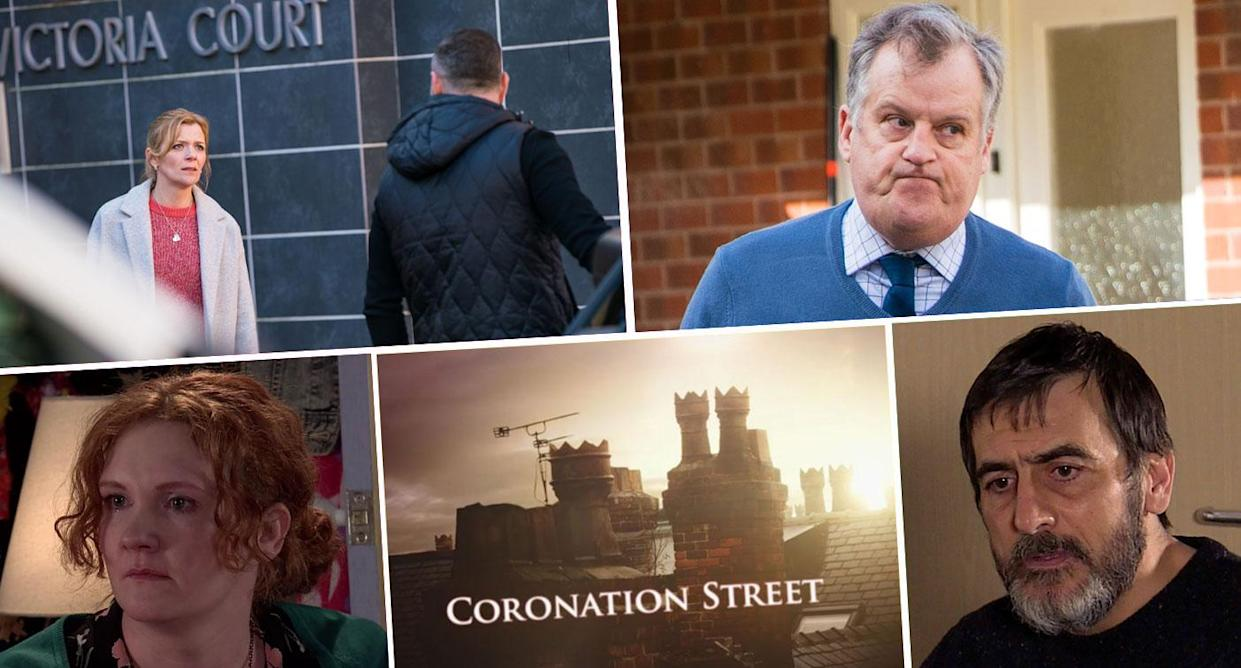 Look into the future of next week's Corrie (ITV)