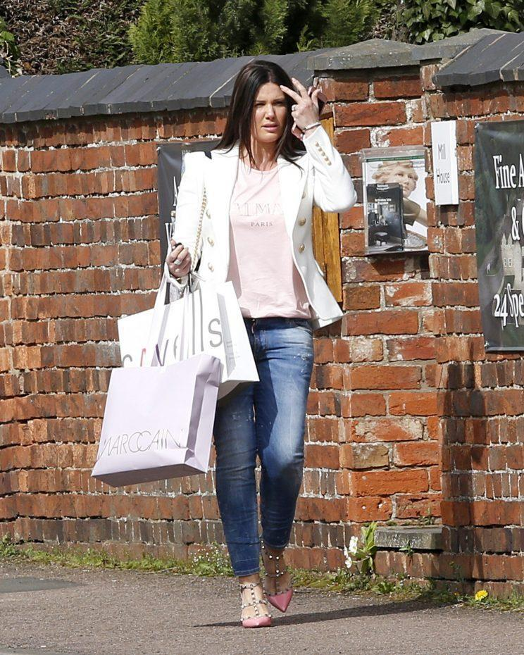 Rebekah Vardy has opened up about learning to love her post-baby body and dealing with shaming [Photo: PA Images]