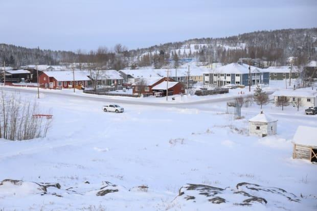 A file photo of the hamlet of Fort Chipewyan, Alta. from January 2020. (Jamie Malbeuf/CBC - image credit)
