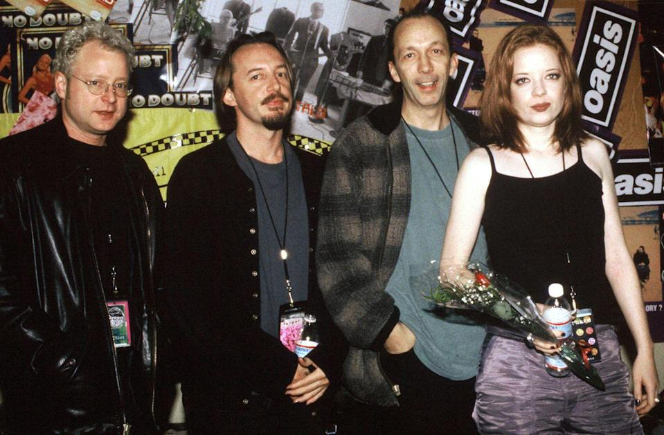 """<p>Despite frontwoman Shirley Manson being from Scotland, this rock band was formed in Madison, Wisconsin. Manson joined Duke Erikson, Steve Marker and Butch Vig and put out hits like """"Stupid Girl"""" and """"Only Happy When it Rains.."""" </p>"""