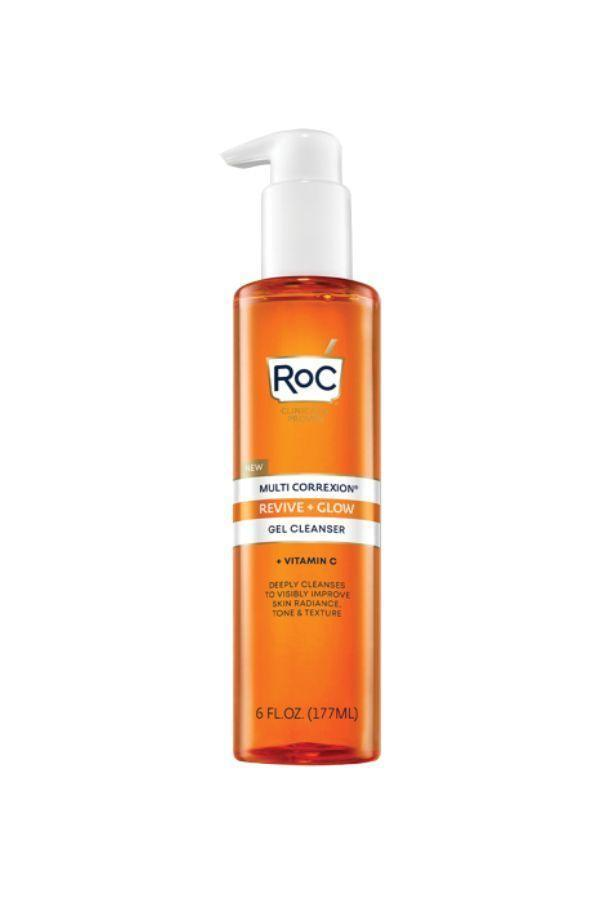 """<p><strong>RoC</strong></p><p>ulta.com</p><p><strong>$9.99</strong></p><p><a href=""""https://go.redirectingat.com?id=74968X1596630&url=https%3A%2F%2Fwww.ulta.com%2Fp%2Fmulti-correxion-revive-glow-gel-cleanser-pimprod2021139&sref=https%3A%2F%2Fwww.oprahdaily.com%2Fbeauty%2Fskin-makeup%2Fg36743937%2Fbest-face-wash-for-acne%2F"""" rel=""""nofollow noopener"""" target=""""_blank"""" data-ylk=""""slk:Shop Now"""" class=""""link rapid-noclick-resp"""">Shop Now</a></p><p>For less than ten bucks, you can get a high-quality formula with glycolic acid to exfoliate, vitamin C to brighten, and glycerin and sodium PCA to hydrate. For all these reasons, it's another Zeichner pick, especially for older patients who may be dealing with acne and the signs of aging.</p>"""