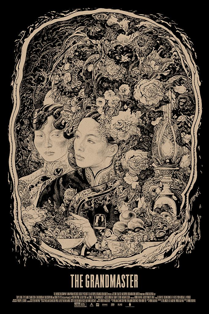 """Mondo's poster for The Weinstein Company's """"The Grandmaster"""" designed by Vania Zouravliov. The poster goes on sale 8/23 at <a href=""""http://www.mondotees.com/"""" rel=""""nofollow noopener"""" target=""""_blank"""" data-ylk=""""slk:MondoTees.com"""" class=""""link rapid-noclick-resp"""">MondoTees.com</a>. Follow <a href=""""http://twitter.com/MondoNews"""" rel=""""nofollow noopener"""" target=""""_blank"""" data-ylk=""""slk:@MondoNews"""" class=""""link rapid-noclick-resp"""">@MondoNews</a> to find out when.<br><br> <a href=""""http://l.yimg.com/os/251/2013/08/13/grandmaster-English-Final-jpg_171546.jpg"""" rel=""""nofollow noopener"""" target=""""_blank"""" data-ylk=""""slk:View full size >>"""" class=""""link rapid-noclick-resp"""">View full size >></a>"""