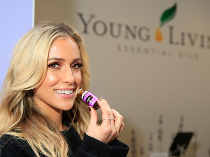 Kristin Cavallari, described as an avid Young Living essential-oils fan, in 2016.