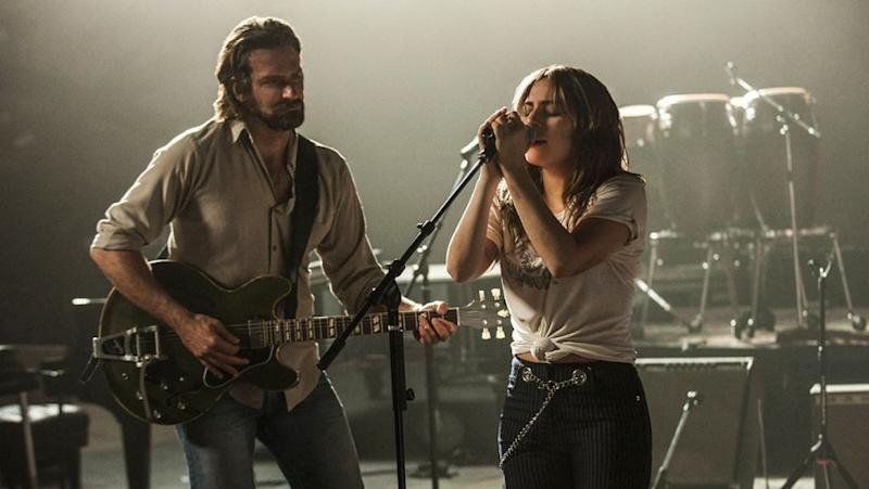 Bradley Cooper and Lady Gaga received critical acclaim for A Star Is Born (Image by Warner Bros)