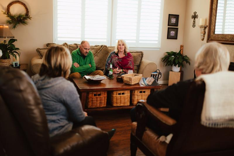 The parents of Alec Murray and Caleb Stenvold are moving past blame into action. Paige and Lee Murray are working with the Reno Behavioral Healthcare Hospital and other agencies to better coordinate local suicide prevention. Caleb's parents, Kerri Countess and Storm Stenvold, created Forever14.org, a website dedicated to preventing youth suicide by promoting conversation and human connection. They have filed paperwork to create a nonprofit with the same mission. (Photo by Lauren Casto for KHN)
