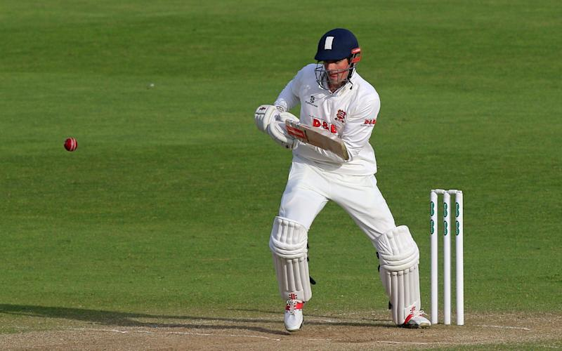 Alistair Cook at Taunton - Rex Features