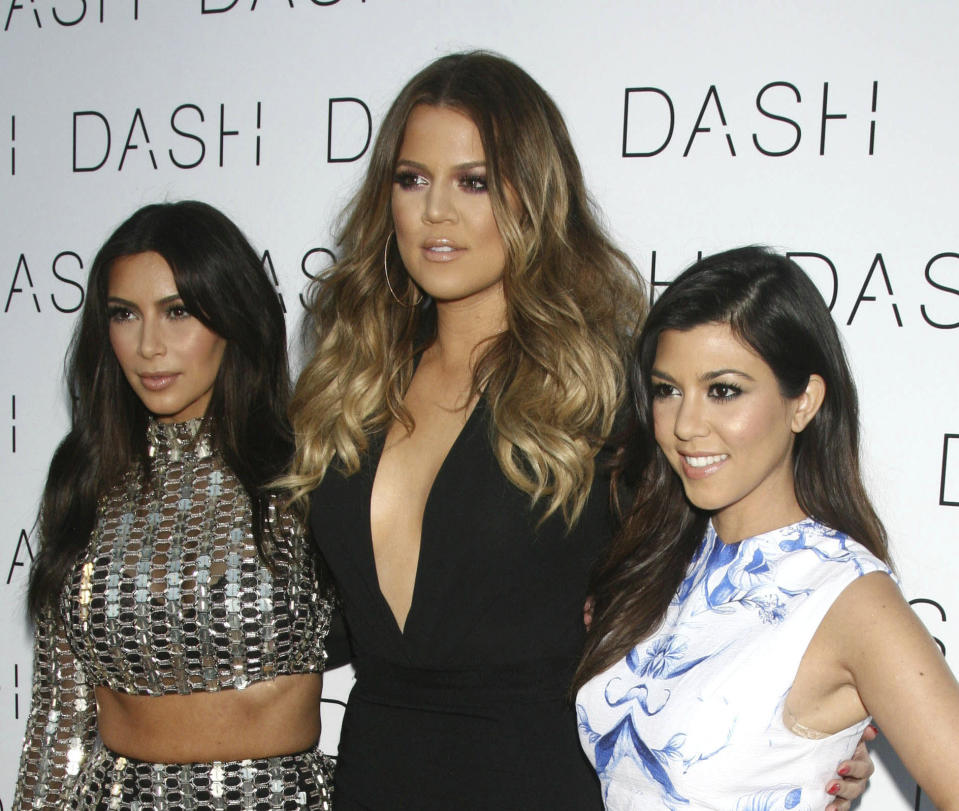 OCTOBER 11th 2020: Kim Kardashian West donates $1 million to The Armenia Fund amid the ongoing conflict with Azerbaijan. Kim's sisters Kourtney Kardashian and Khloe Kardashian are also donating money and raising awareness in support of this cause. - File Photo by: zz/VMRF/STAR MAX/IPx 2014 3/12/14 Kim Kardashian, Khloe Kardashian and Kourtney Kardashian at the grand opening of DASH Miami Beach held on March 12, 2014 in Miami, Florida.