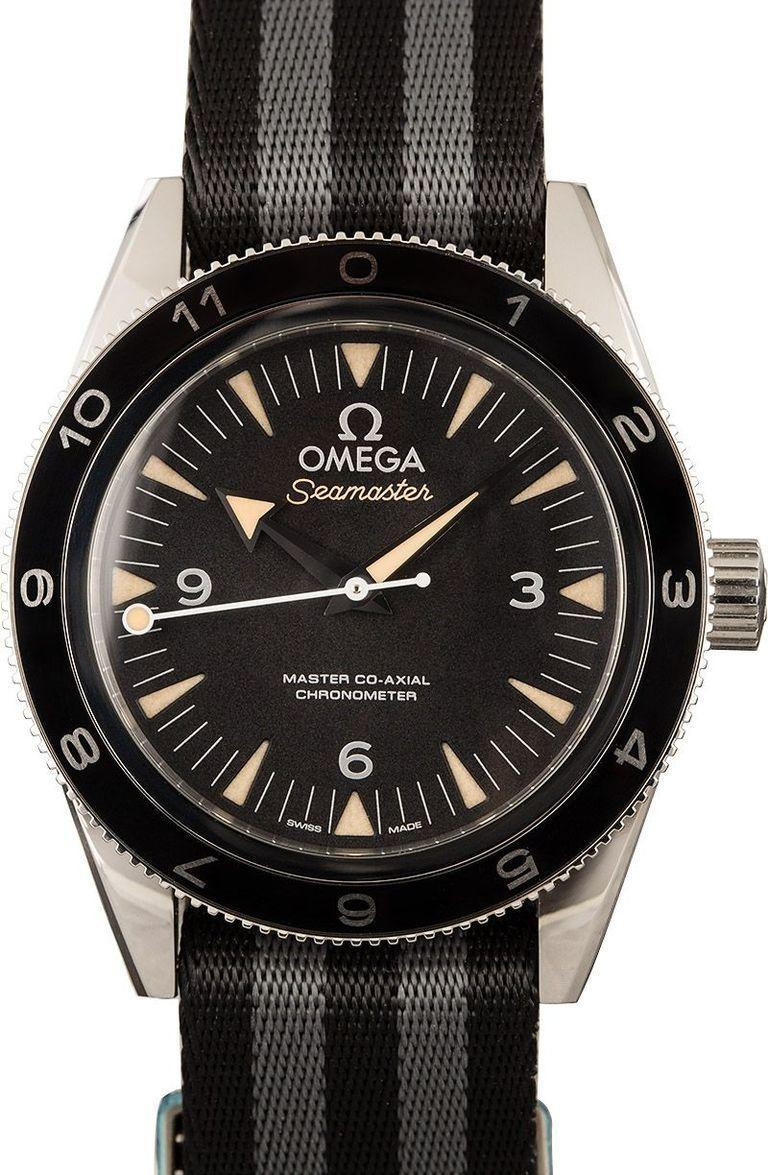 <p>Bond's been an Omega guy since 1995, so while this doesn't have the age some of the other watches in the group do, it's still very much 007-approved. And, you know, really good looking, too.</p>