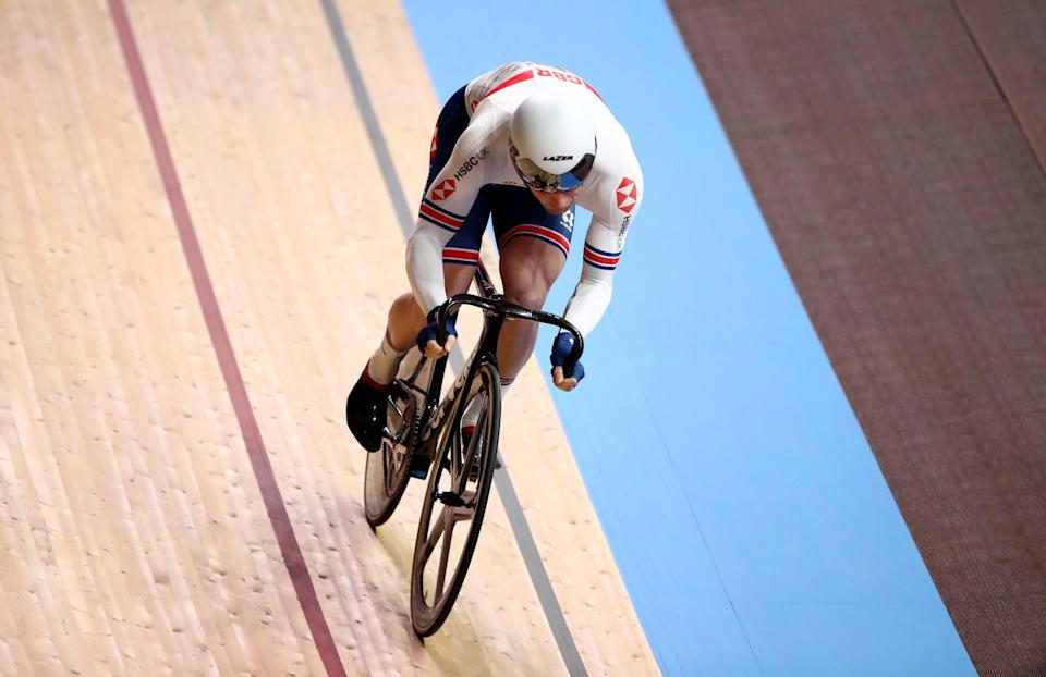 Great Britain's Jason Kenny will hope to add to his tally of six Olympic gold medals in the team sprint (Tim Goode/PA) (PA Archive)