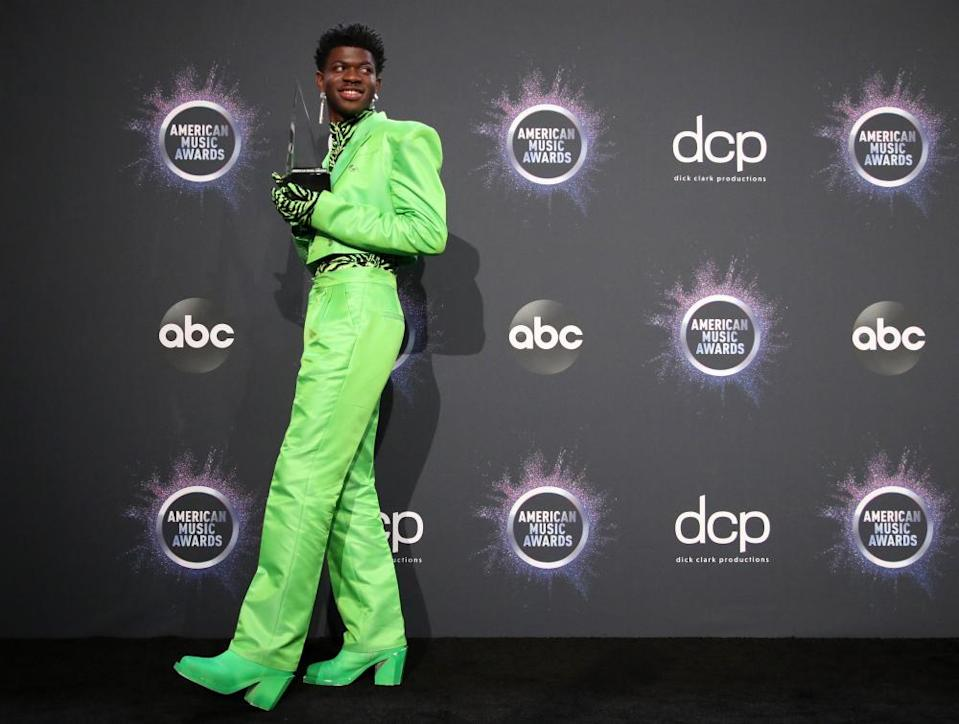 Lil Nas X at the AMAs