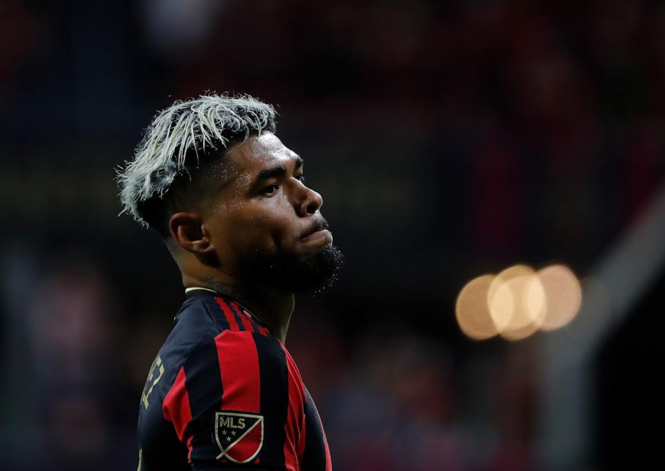 Atlanta United star Josef Martínez has suffered a torn ACL, the club confirmed. (Photo by Kevin C. Cox/Getty Images)