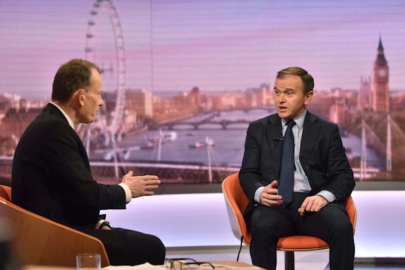 Secretary of State for Environment, Food and Rural Affairs George Eustice (VIA REUTERS)